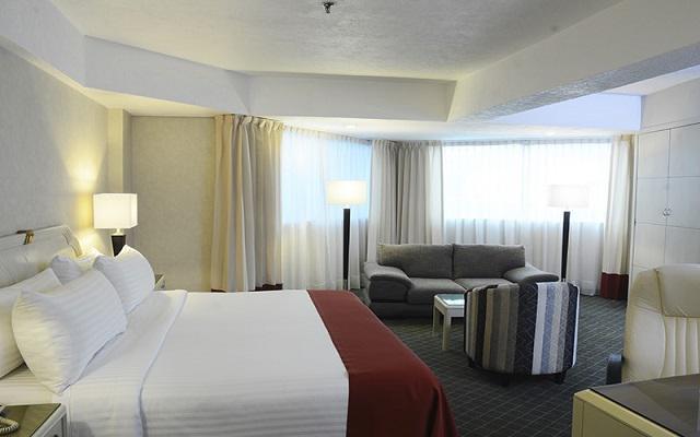 Hotel Krystal Pachuca, confortables habitaciones