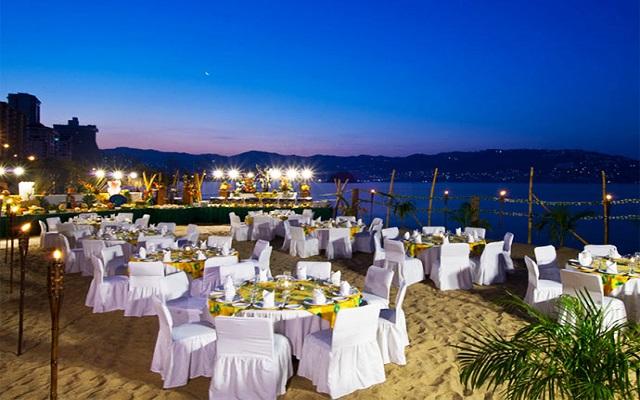 Hotel Krystal Beach Acapulco, facilidades nupciales