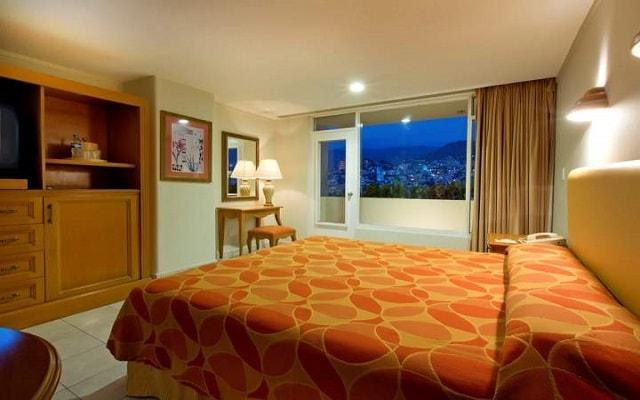Hotel Krystal Beach Acapulco, habitaciones bien equipadas
