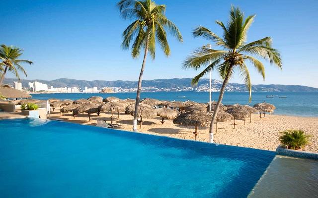 Hotel Krystal Beach Acapulco, vistas hermosas del océano