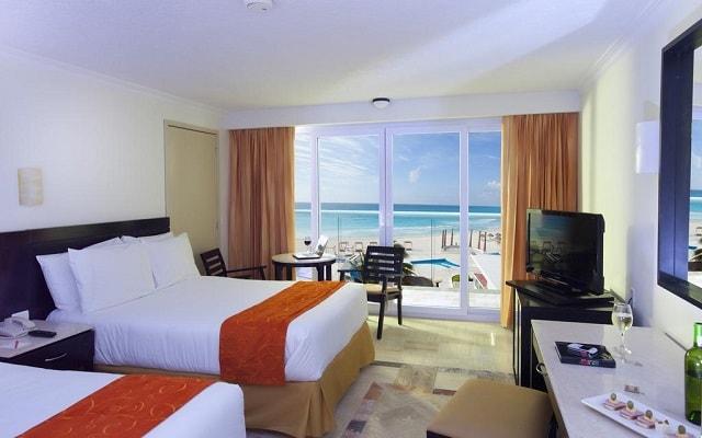 Hotel Krystal Cancún, amplias y luminosas habitaciones