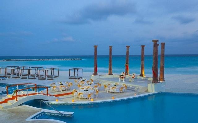 Hotel Krystal Cancún, espacios para eventos