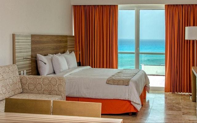 Hotel Krystal Cancún, habitaciones cómodas y acogedoras