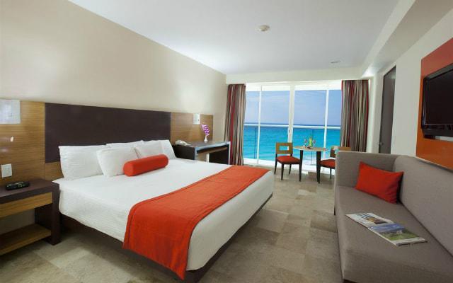 Hotel Krystal Cancún, habitaciones cómodas