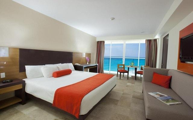 Hotel Krystal Cancún, habitaciones bien equipadas