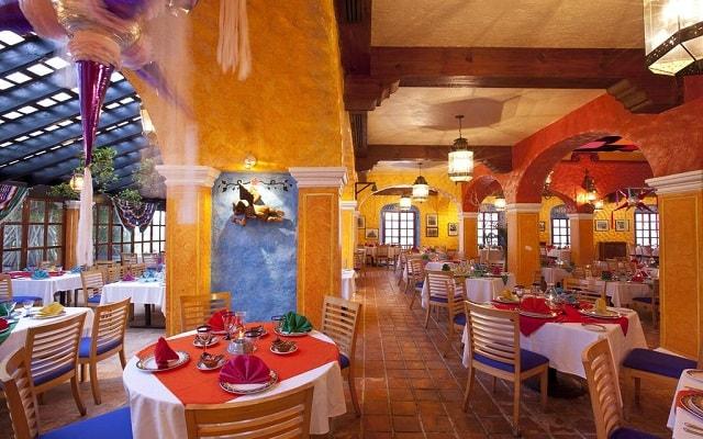 Hotel Krystal Cancún, ricos menús para tus comidas
