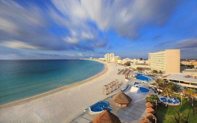 Hotel Krystal Cancún, buena ubicación
