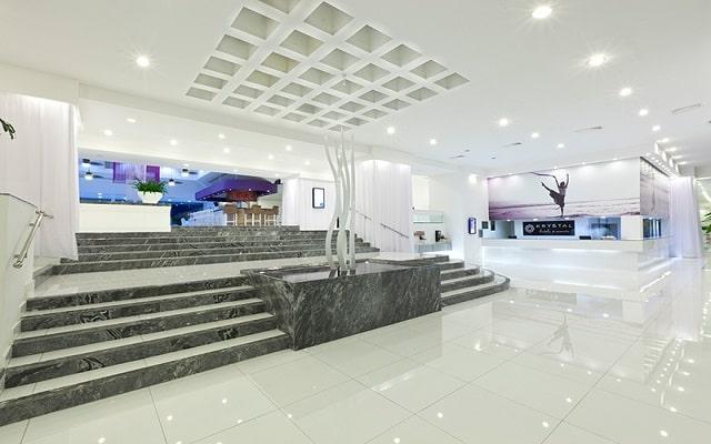 Hotel Krystal Club All Inclusive, atención personalizada desde el inicio de tu estancia