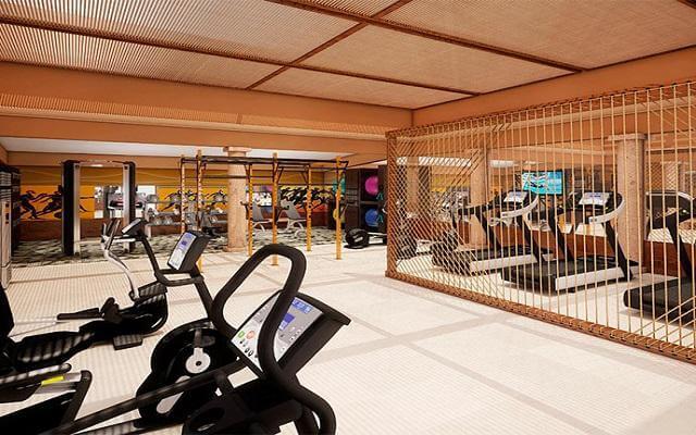 Hotel Krystal Grand Los Cabos All Inclusive, gimnasio con equipamiento de primera calidad
