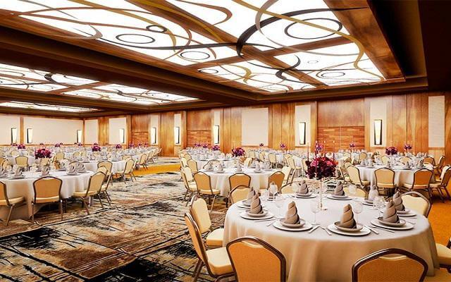 Hotel Krystal Grand Los Cabos All Inclusive, elegante salón de eventos