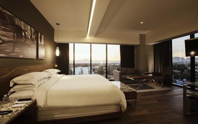 Hotel Krystal Grand Suites Insurgentes Sur, habitaciones con todas las amenidades