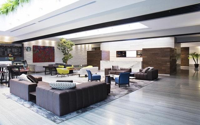 Hotel Krystal Grand Suites Insurgentes Sur, atención personalizada desde el inicio de tu estancia