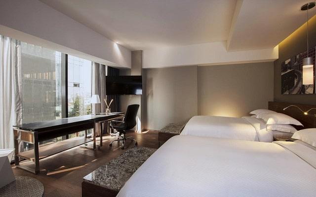 Hotel Krystal Grand Suites Insurgentes Sur, amplias y luminosas habitaciones