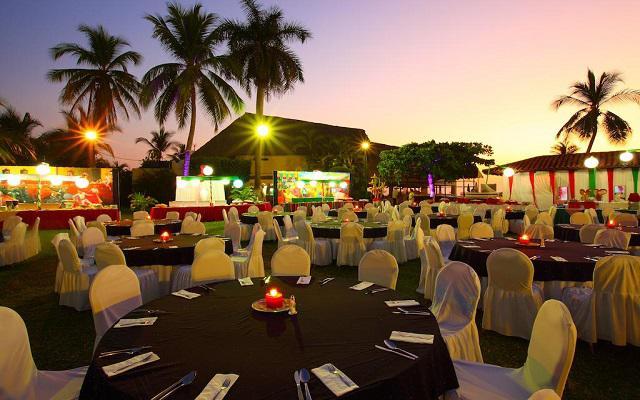 Hotel Krystal Ixtapa, celebraciones al aire libre