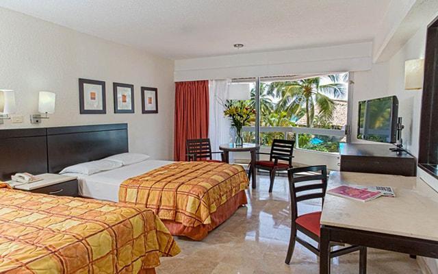 Hotel Krystal Ixtapa, amplias y luminosas habitaciones