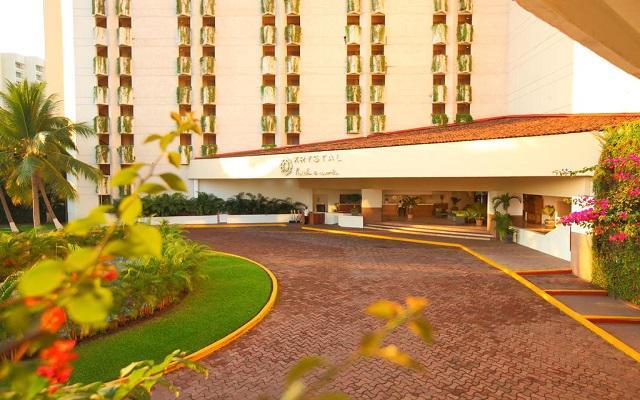 Hotel Krystal Ixtapa, ingreso