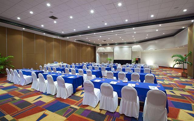 Hotel Krystal Ixtapa, salón de eventos
