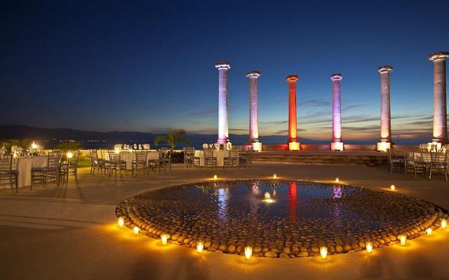 Hotel Krystal Puerto Vallarta Beach Resort, hermosa vista nocturna