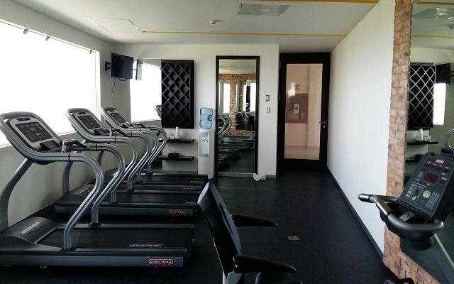 Hotel Krystal Urban Cancún Centro, gimnasio