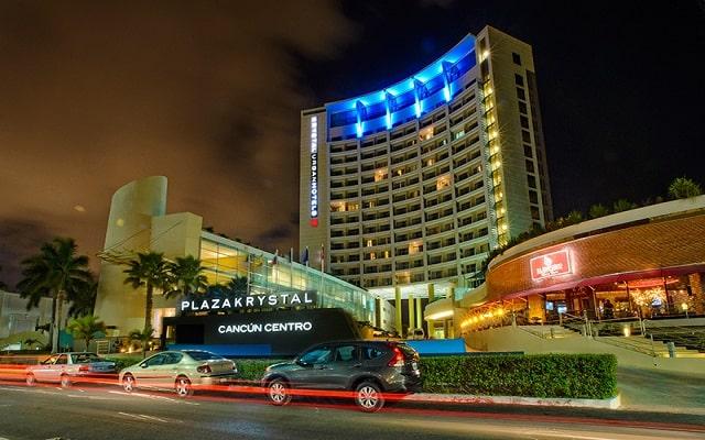 Hotel Krystal Urban Cancún Centro, buena ubicación