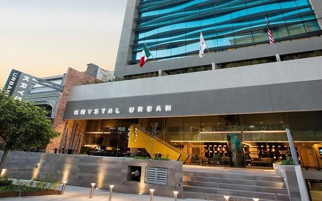 Hotel Krystal Urban Guadalajara en Guadalajara Ciudad