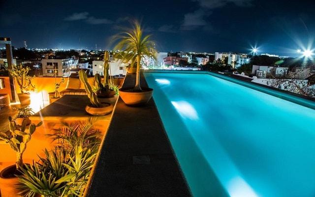 Hotel La Galería by Bunik, terraza