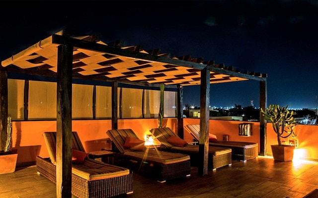 Hotel La Galería by Bunik, relájate en la comodidad de los camastros