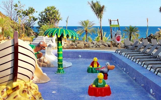 Hotel La Isla Natura Beach Huatulco, alberca infantil