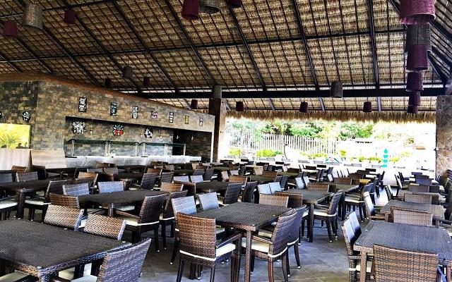 Hotel La Isla Natura Beach Huatulco, Restaurante La Palapa