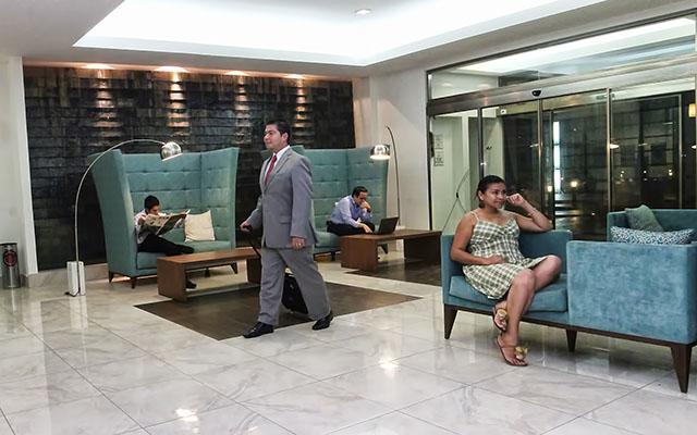 Hotel La Quinta by Wyndham Cancun, espacios acogedores