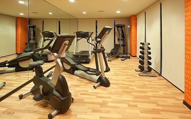 Hotel La Quinta by Wyndham Cancun, gimnasio bien equipado
