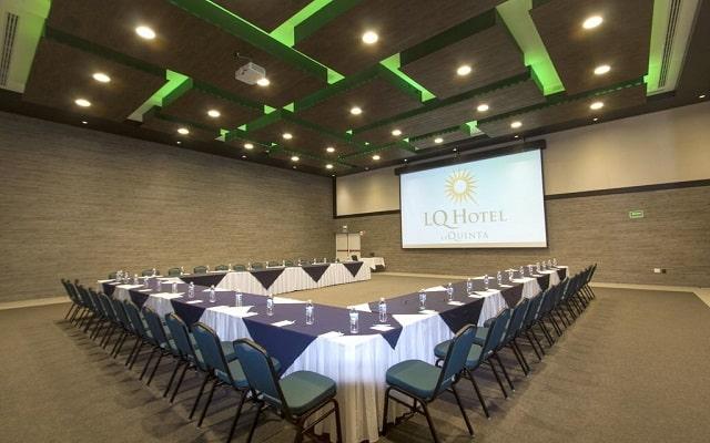 Hotel La Quinta by Wyndham Cancun, que te parece este lugar para tus reuniones