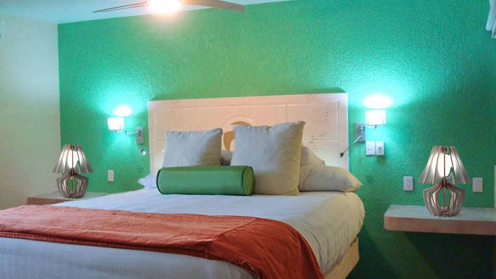 Habitación Superior del Hotel La Roca Natural