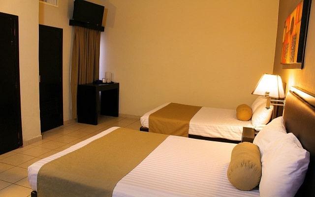 Hotel La Siesta, habitaciones con todas las amernidades