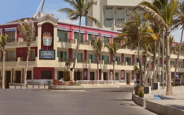 Hotel La Siesta en Mazatlán Centro