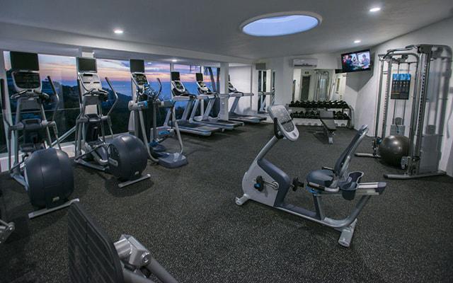 Hotel Las Brisas Acapulco, gimnasio bien equipado