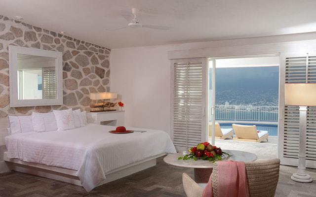 Hotel Las Brisas Acapulco, habitaciones con todas las amenidades