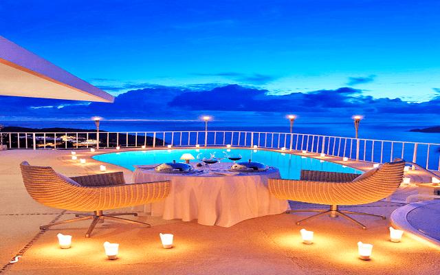 Hotel Las Brisas Acapulco, cenas para momentos especiales