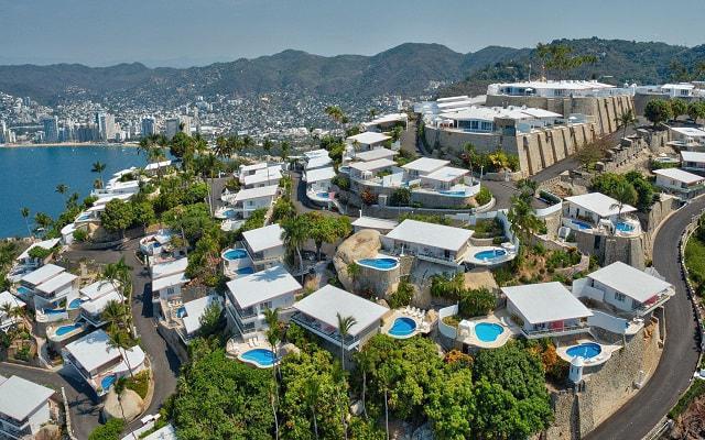 Hotel Las Brisas Acapulco, vista aérea