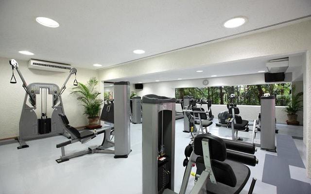 Hotel Las Brisas Ixtapa, cuenta con gimnasio