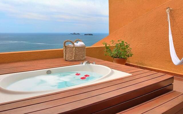 Hotel Las Brisas Ixtapa, jacuzzi en la habitación