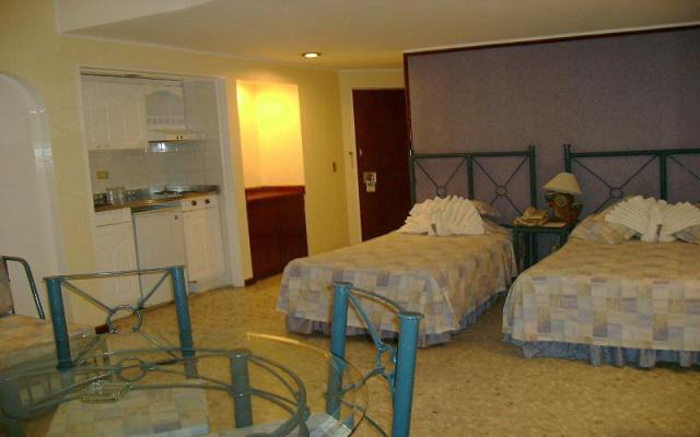 Hotel Las Torres Gemelas, habitaciones con todas las amenidades