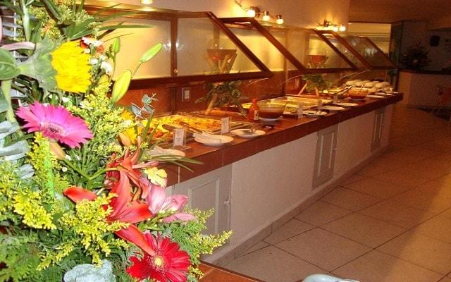 Hotel Las Torres Gemelas, variado menú para tus alimentos