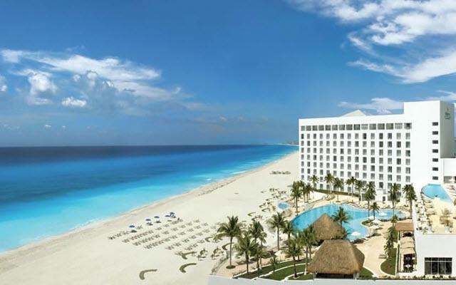 Frente a una hermosa playa en Cancún