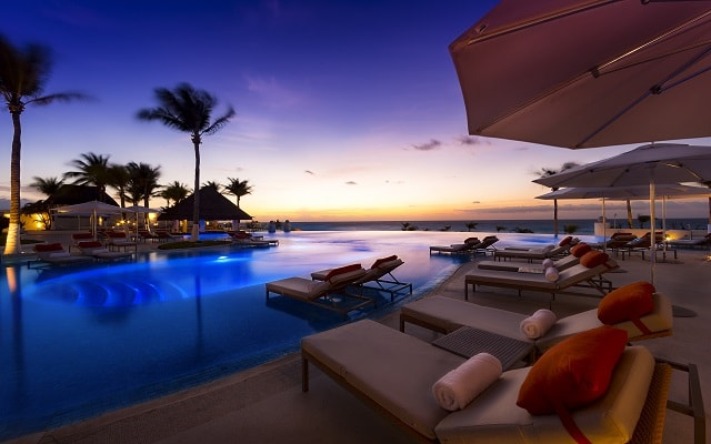 Hotel Le Blanc Spa Resort, atardeceres inolvidables