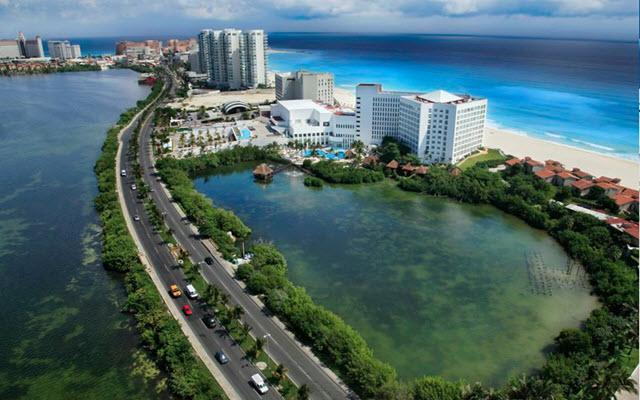 Hotel Le Blanc Spa Resort, buena ubicación
