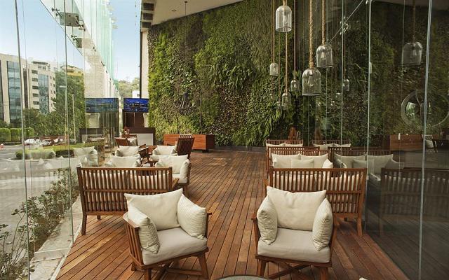 Hotel Live Aqua Urban Resort México, disfruta de la comodidad en su terraza con vista a la ciudad