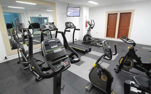 Hotel Lois Veracruz, gimnasio bien equipado