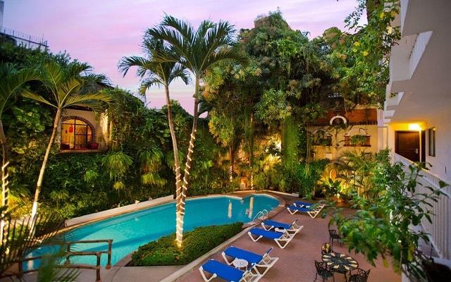 Hotel Los Arcos Suites Vallarta Centro en Zona Romántica