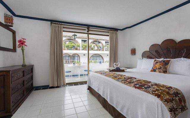 Hotel Los Arcos Suites Vallarta Centro, luminosas y acogedoras habitaciones
